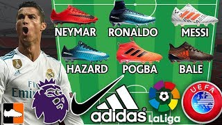 Ultimate Fantasy Lineups! Which Football Team Has The Best Boots?