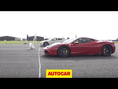Ferrari 458 Speciale Vs Mclaren 650s  photos