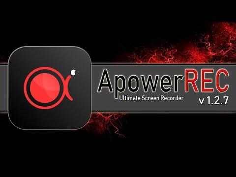ApowerREC v 1 2 7 + Crack - Gravador de Tela ApowerREC Crackeado 2019