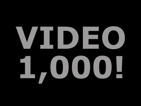 Video 1,000! Your Most Frequently Asked Questions