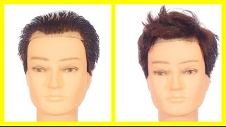 Video Hairstyles for Men with a High Forehead or Receding Hairline - TheSalonGuy MP3, 3GP, MP4, WEBM, AVI, FLV November 2018