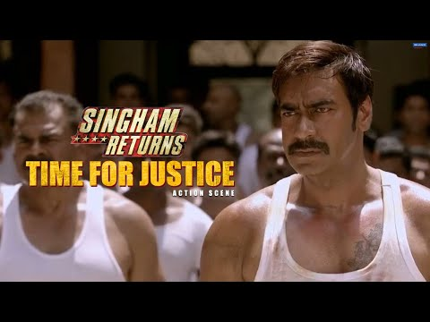 Time for Justice | Singham Returns | Movie Scene | Ajay Devgn | Rohit Shetty