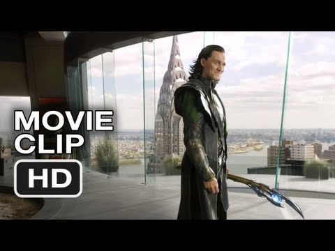 The Avengers #1 Movie CLIP - Loki's Threat (2012) Marvel Movie Video