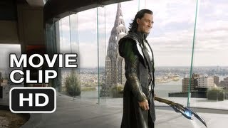 The Avengers - Loki's Threat (Movie Clip)