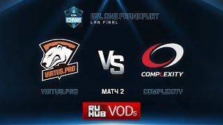 coL vs Virtus.Pro, game 2