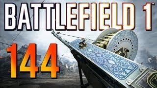 Battlefield 1: Aggressive 144 Kills - 4K PS4 PRO Multiplayer Gameplay