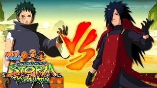 Video Obito Uchiha vs Madara Uchiha - Naruto Shippuden Ultimate Ninja Storm Revolution MP3, 3GP, MP4, WEBM, AVI, FLV Oktober 2017