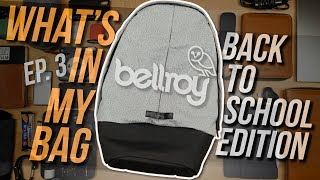 Video What's In My EDC/College Bag Ep. 3 - Bellroy Classic Backpack Plus Review MP3, 3GP, MP4, WEBM, AVI, FLV Agustus 2018