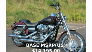 7. 2014 Harley-Davidson Dyna Super Glide Custom -  Engine Top Speed