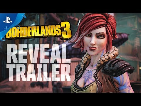 Borderlands 3 - Official Reveal Trailer | PS4 - Thời lượng: 3 phút, 46 giây.