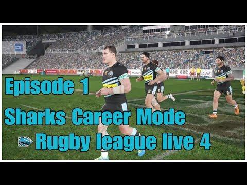 Rugby league live 4   Sharks career mode Episode 1
