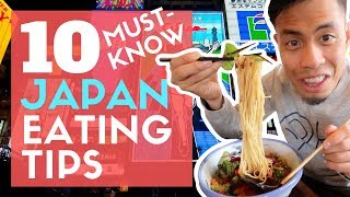Video How to EAT JAPAN | 10 Must Know Food Tips No One Tells You MP3, 3GP, MP4, WEBM, AVI, FLV Juni 2019