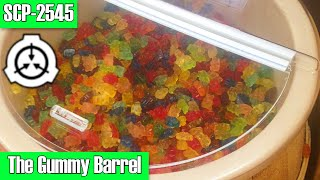 Scp 2545 The Gummy Barrel  Gummy Bears    Safe Class   Container   Hive Mind Scp