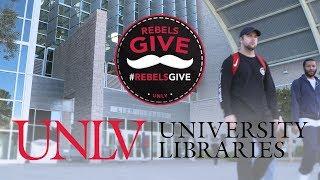 #RebelsGive: UNLV Libraries