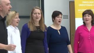 Video Vystoupení skupiny DNA – Dej Nám Akord, Masarykův onkologický ús
