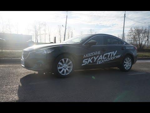 Mazda 6 (2014) 2.5 192 л.с.Реальная динамика. (видео)