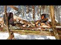 Download Video Rised Bushcraft Kitchen, Fire Platform
