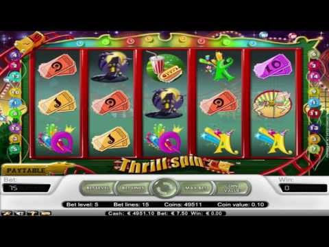Thrill Spin ™ free slot machine game preview by Slotozilla.com