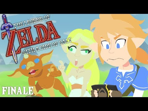 The Legend of Zelda with a side of salt (Breath of the Wild) FINALE (видео)