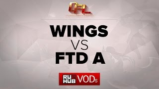 Wings vs FTD, game 2