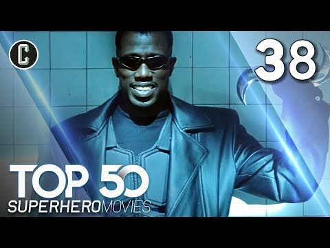 Top 50 Superhero Movies: Blade - #38