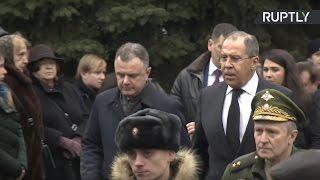 Церемония прощания с Виталием Чуркиным в Москве