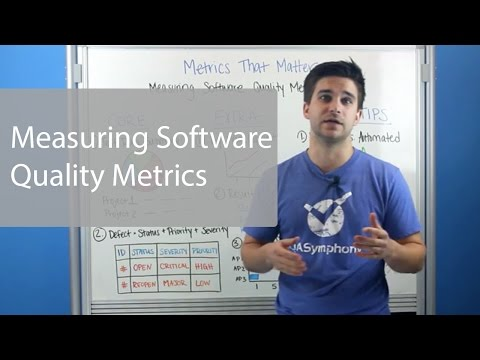 Software Quality Metrics You Need To Know