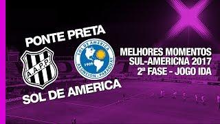 Siga - http://twitter.com/sovideoemhdCurta - http://facebook.com/sovideoemhdCONMEBOL SUL-AMERICANA 20172ª Fase - Jogo IdaEstádio Moisés Lucarelli, Campinas, SP, Brasil