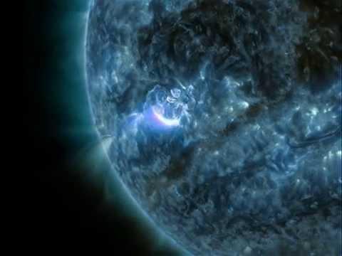 Solar flare 9/03/2015 & 10/03/2015