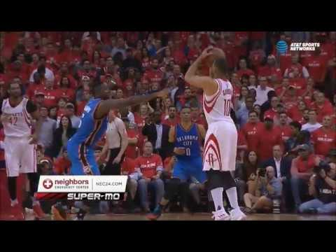 Eric Gordon silences Thunder in final minute of Game 2