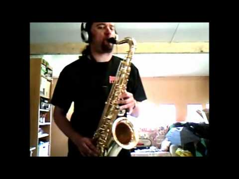 sax alto impro - Very special request from a very special person abroad ;-) This is a tenor sax impro solo based on the chords of Sting's