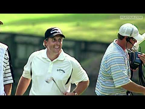 Top 10 best recovery shot on the PGA Tour
