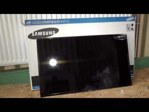 Samsung H6400 - Odpiranje embalaže