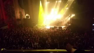 Mad mosh pit crowd at Relentless Live Biffy Clyro