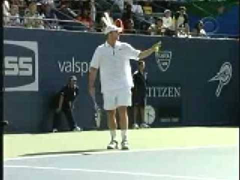 Andy Roddick and Novak Djokovic imitate each other!