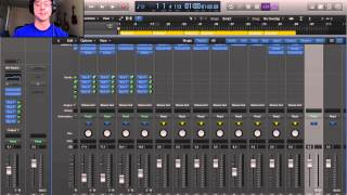 Logic Pro X Tutorial – Convert Audio from Stereo to Mono