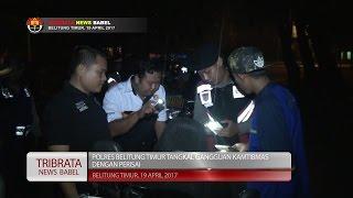 POLRES BELITUNG TIMUR TANGKAL GANGGUAN KAMTIBMAS DENGAN PERISAI#TRIBRATA NEWS