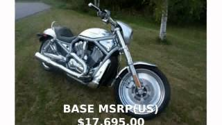 5. 2004 Harley-Davidson VRSC A V-Rod - Features, Review