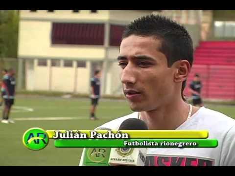 Rionegrero en la A del fútbol profesional colombiano