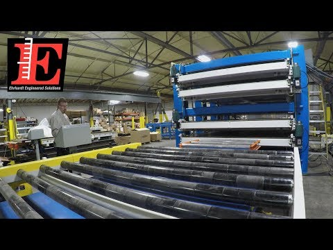 Insulated Foam Panel Press for Industry Leading HVAC Manufacturer | Ehrhardt Engineered Solutions