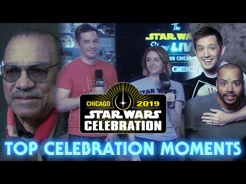 Top Moments Of Star Wars Celebration 2019