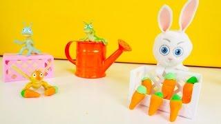 Arkadaşlar, bugün okul öncesi doğa etkinliklerimiz var! Hadi tavşancık tarlasına gidelim! Sebze ve meyve bahçesi oyunları oynayalım! Oyuncak tavşan pek güzel havuçları ekti, ama sebze bahçesine biri gelmiş ve hiç utanmadan havucu bitirmiş! Hadi çocuklar kim o öğrenelim ve ona bir ders verelim! #BiBaBuOyundiyarıOyun Diyarı TV eğitici ve öğretici yeni çizgi filmlere ve çocuk videolara kolaylıkla ulaşabilirsiniz. Eğlenerek  ve öğrenmek için en güzel çizgi filmler ve videolar. Bizim üyemiz olun, yeni çizgi filmleri kaçırmayın.Bizi Facebook'ta takip ediniz:https://www.facebook.com/Oyuncu-TV-511681979002646/https://www.facebook.com/bebeturktv/Vkontakte :https://vk.com/kapukikanukihttps://vk.com/bebeturk