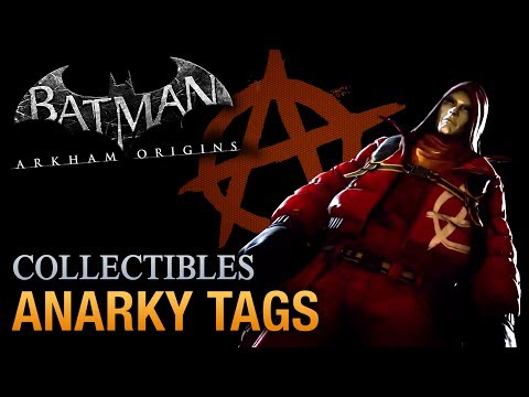 tags - Walkthrough / Guide for all the Anarky Tags to scan in Batman: Arkham Origins (Full HD - 1080p) Batman: Arkham Origins Side Missions Playlist: http://www.you...