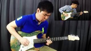 Justin Bieber - Love Yourself (Electric Guitar Cover by Lebbeus & Joshua)