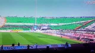 Raja Casablanca Vs MAT 2014 ( Tifo Green Boys تيفو خيالي و عالمي )