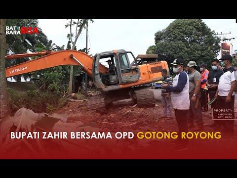 Bupati Zahir Bersama OPD Gotong Royong