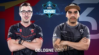 ESL One Cologne 2017 is finally here! 6 days of non-stop CS:GO action, 16 of the world's greatest teams, and a Lanxess Arena...