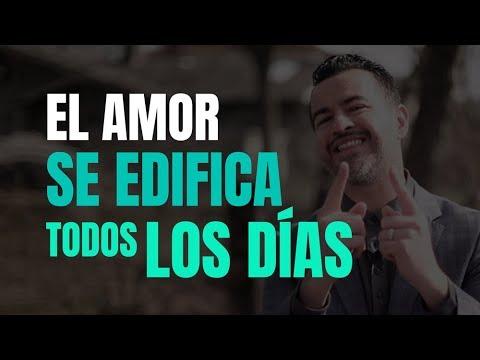 Tarjetas de amor - El amor se edifica todos los días - Ps. Freddy DeAnda