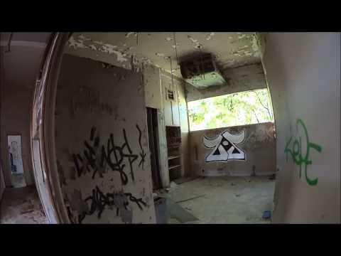 URBEX film d'horreur, dans de grand batiments abandonnés