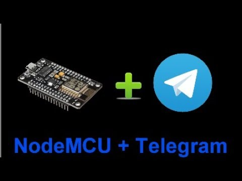 Tutoriales Arduino Center - Telegram BOT | NodeMCU